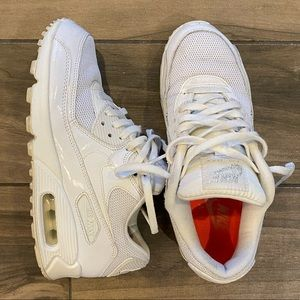 Nike air max  90's all white size 6.5